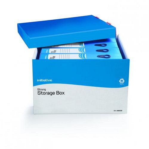 Initiative Strong Storage Box 330x405x260mm [Pack of 10]