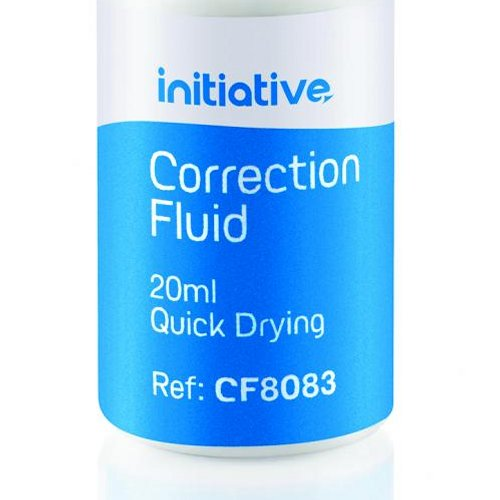 Initiative Correction Fluid 20ml [Pack of 10]