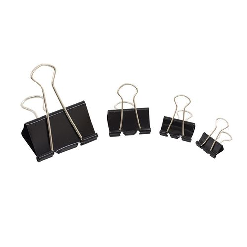 Initiative Fold Back Clips 24mm [Pack of 10]