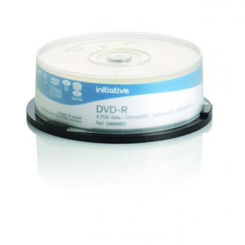 Initiative DVD-R 4x 4.7Gb [Spindle of 25]