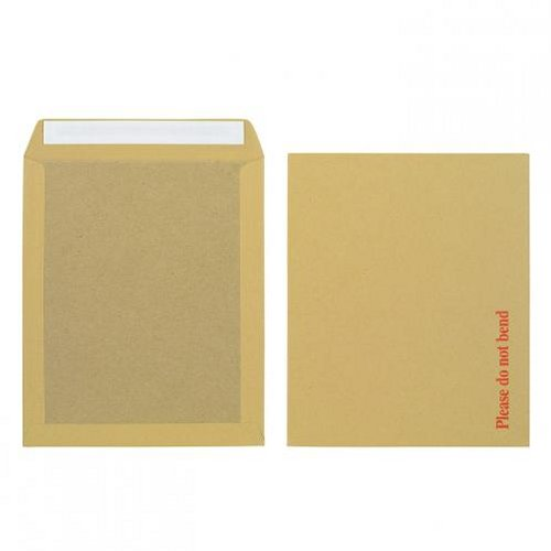 Initiative 318x267mm Boardback Envelopes Peel and Seal 115g Manilla [Pack of 125]