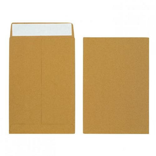 Initiative 340x248x20mm Gusset Envelopes Peel and Seal 120g Manilla [Pack of 125]