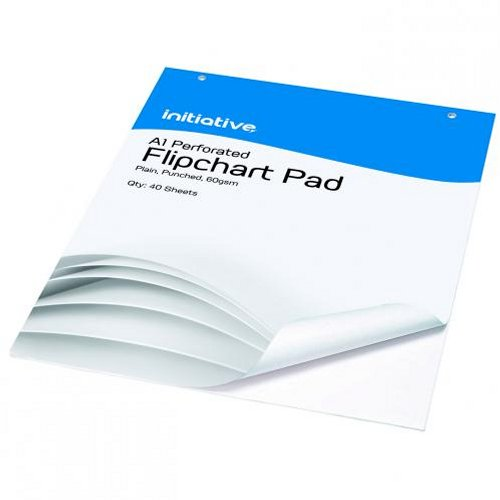 Initiative Plain Flipchart Pad A1