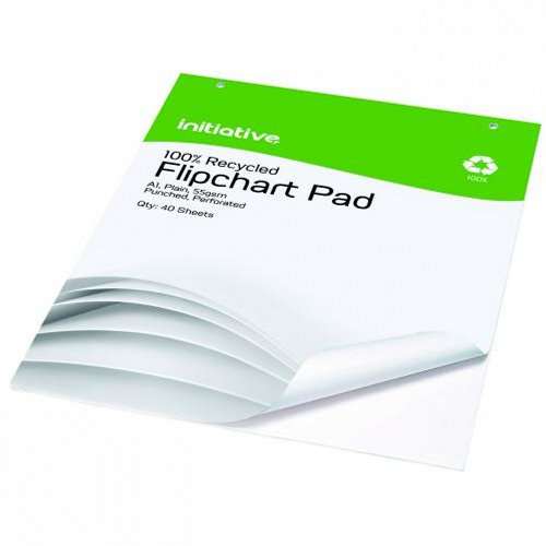 Initiative Perforated Flipchart Pad A1