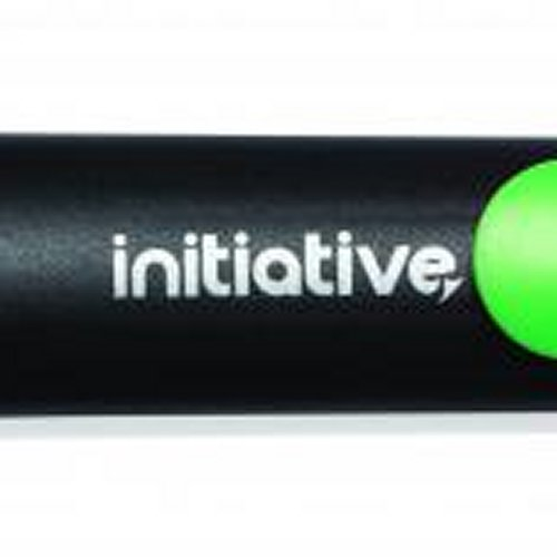 Initiative Water Based Highlighter Wedge Tip Green [Pack of 10]
