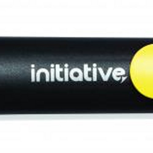 Initiative Water Based Highlighter Wedge Tip Yellow [Pack of 10]