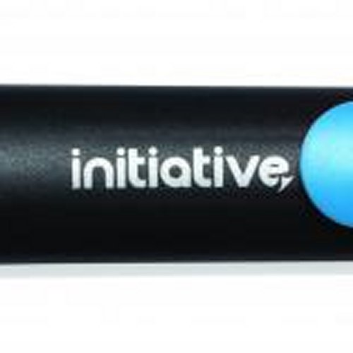 Initiative Water Based Highlighter Wedge Tip Blue [Pack of 10]