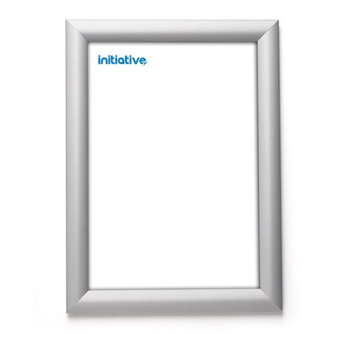 Initiative Snapframe A4 Silver