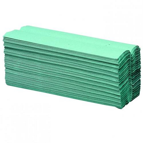 Initiative Paper Towels C-Fold Green [Pack of 16]