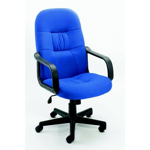 Jemini High Back Manager Chair Royal Blue