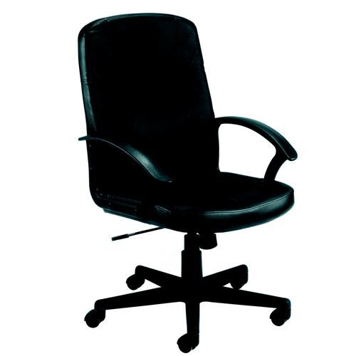 Jemini Thames Leather Executive Chair Black