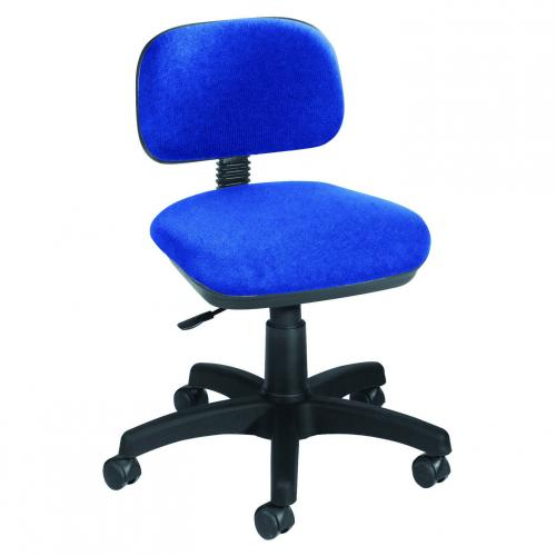 Jemini Typist Gas Lift Chair Blue