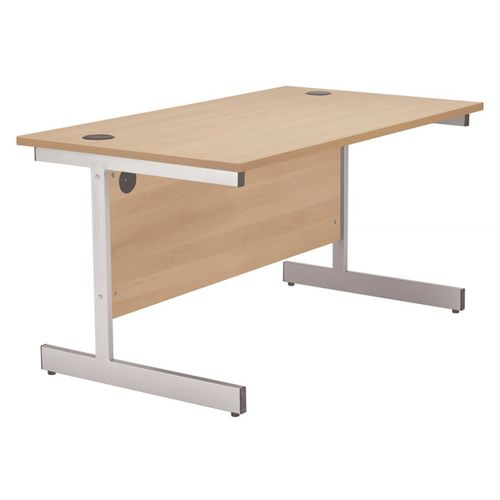 Jemini 1600mm Cantilever Rectangular Beech