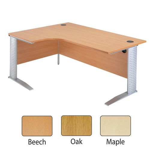 Arista Desk High Side Tambour Beech