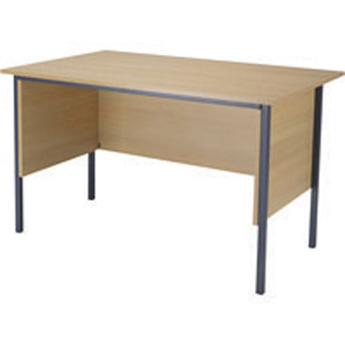 Jemini 1200mm 4 Legged Desk Oak