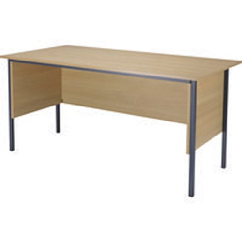 Jemini 1500mm 4 Legged Desk Oak