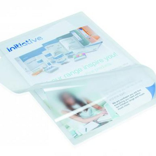 Initiative Lightweight Laminating Pouches A4 80 Micron [Pack of 100]