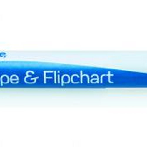Initiative Drywipe and Flipchart Marker Green [Pack of 10]