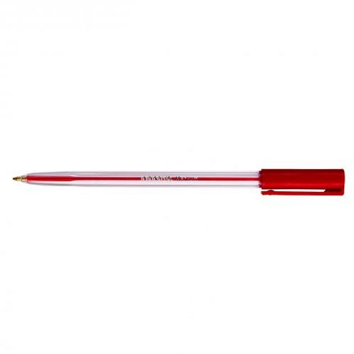 Initiative Ballpoint Pen Medium Red [Pack of 50]