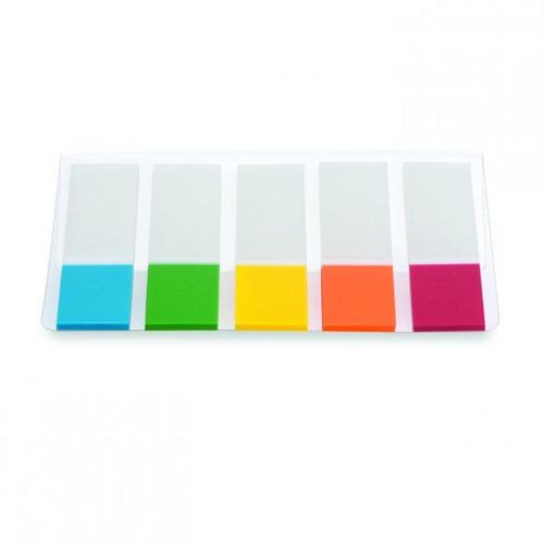 Initiative Film Index Tabs 45x12mm Assorted [Pack of 5]