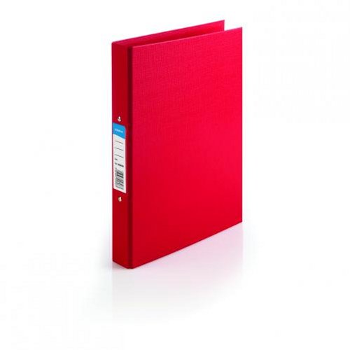 Initiative Polypropylene Ring Binder A4 Red [Pack of 10]