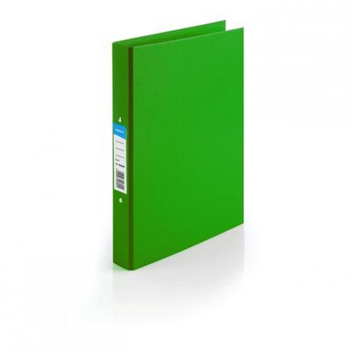 Initiative Polypropylene Ring Binder A4 Green [Pack of 10]
