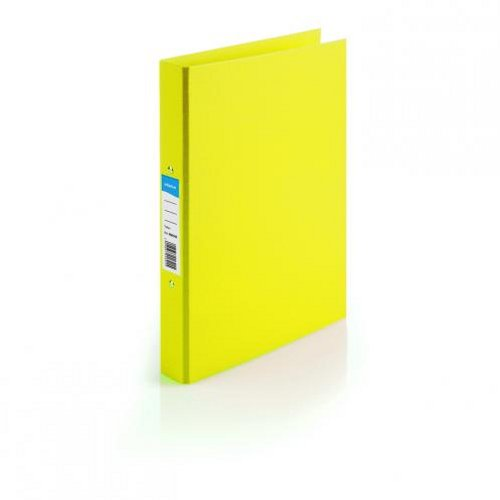 Initiative Polypropylene Ring Binder A4 Yellow [Pack of 10]