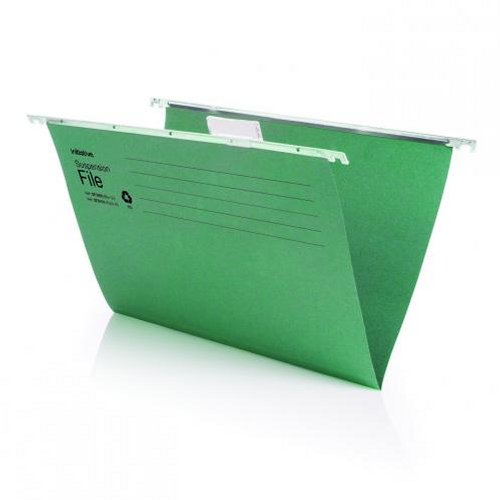 Initiative Suspension Files Foolscap Recycled [Pack of 50]