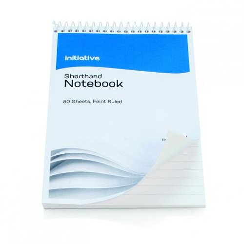 Initiative Shorthand Notebook 160 Pages [Pack of 10]