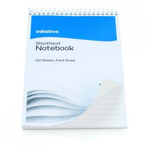 Initiative Shorthand Notebook 300 Pages [Pack of 5]
