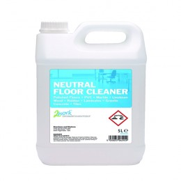 2Work Neutral Floor Cleaner 5 Litre