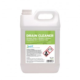 2Work Zi-Gest Enzyme Drain Clean 5 Litre [Pack of 2]