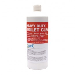 2Work Heavy Duty Toilet Cleaner 1 Litre [Pack of 12]