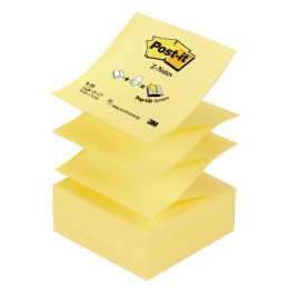 Post-It Z-Note Refills Yellow