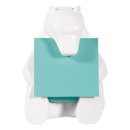 Post-it Z-Note Dispenser Bear Design inc Pack of 1 Post-it Super Sticky Z-Notes 76x76mm BEAR-330