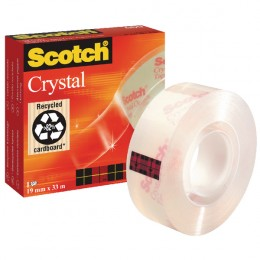 Scotch Crystal Clear Tape 19mmx33m