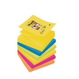 Post-it Super Sticky Z-Note Rio [Pack of 6]