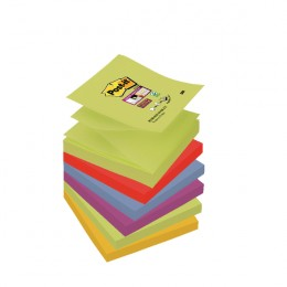 Post-it Super Sticky Z-Note Marrakesh [Pack of 6]