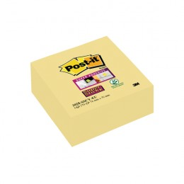 Post-It Super Sticky Cube 76x76mm Yellow