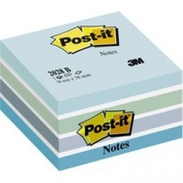 3M Post-It Cube 76x76mm Blue