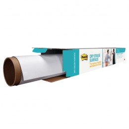 Post-it Super Sticky White Dry Erase Film Roll 1219x1829mm