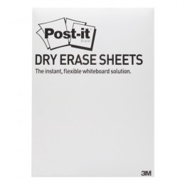Post-it Dry Erase White Sheets 279x390mm [Pack of 15]