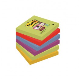 Post-it Super Sticky 76x76mm Marrakesh [Pack of 6]