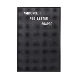 Announce Peg Letter Board 463x310mm