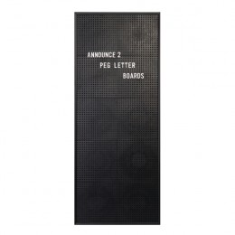 Announce Peg Letter Board 310x767mm