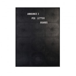 Announce Peg Letter Board 463x615mm