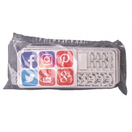 Announce Peg Characters Social Media and Currency Set [Pack of 216]