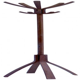 Alba Cafe Coat Stand Dark Wood