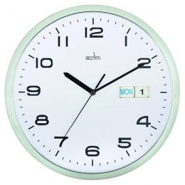 Acctim Supervisor Wall Clock White