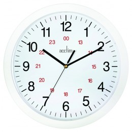 Acctim Metro 300mm Wall Clock White